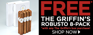 FREE Griffin's Robusto 8-Pack