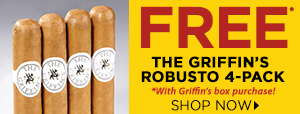 FREE The Griffin's 4-Pack with box purchases of the Griffin's