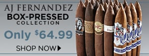 AJ Fernandez Box-Pressed Perfecto Collection only $64.99!