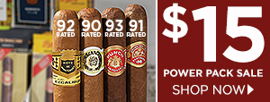 Power Pack Sale - 6 cigars only $15!
