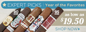 Our Experts' Favorite Cigars of 2017