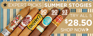 Expert Picks: Summer Stogies - Try All 5 only $28.50!