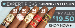 Expert Picks: Spring Into Sun Grown - Try all 5 only $19.50