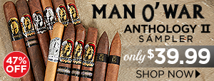 Man O' War Anthology Sampler II only $39.99!
