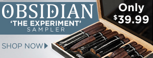 Obsidian 'The Experiment' Sampler only $39.99!