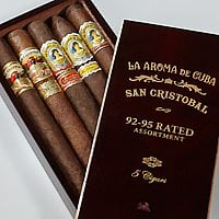 La Aroma / San Cristobal '92-95' Rated Assortment Cigar Samplers