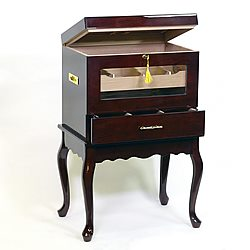 Evanston End Table Aging Humidor