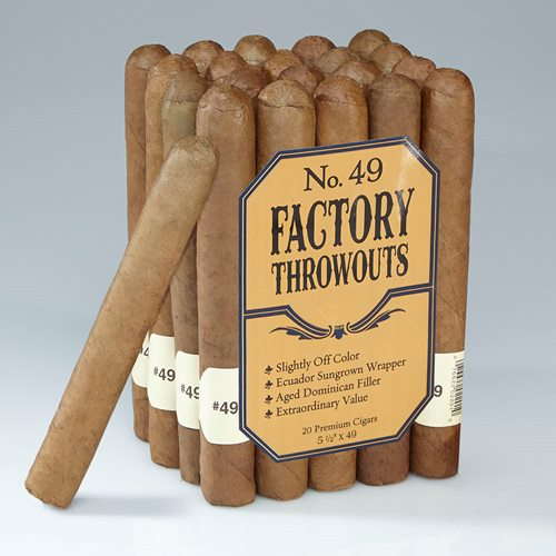 Factory Throwouts Cigars