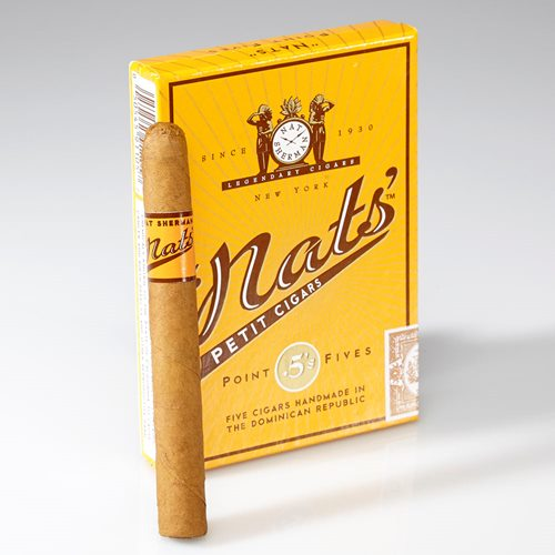 nat sherman point fives cigar com