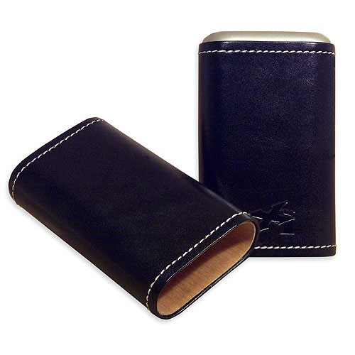 Xikar Envoy 3-Finger Cigar Case Travel Cases