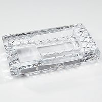 Diamond Crown Bristol Crystal Ashtray