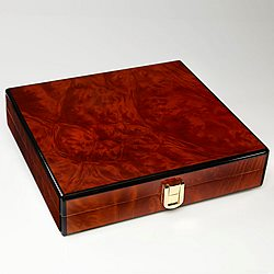 Daniel Marshall Slim Travel Humidor - Burl