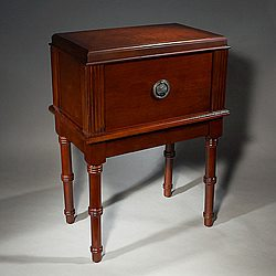 Evanston Antique End Table Humidor