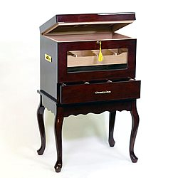 Indulgence End Table Aging Humidor