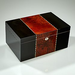 Ticker Inlay Humidor