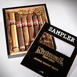 Natural by Drew Estate Sampler Box of 6