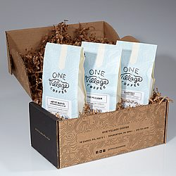 One Village Coffee Signature Blend Sample Box