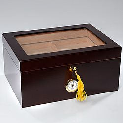 Southport Large Glass Top Humidor