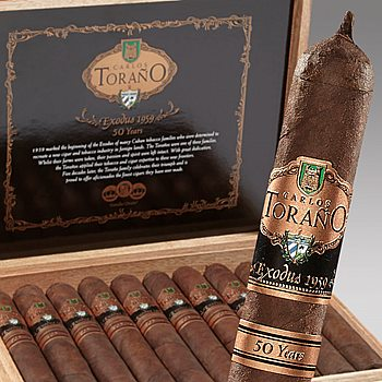 Search Images - Torano Exodus 1959 '50 Years' Cigars