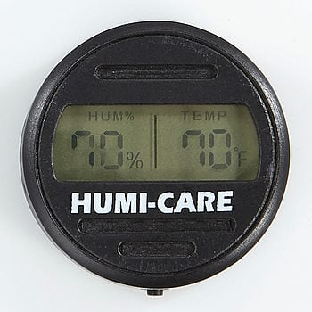 Search Images - HUMI-CARE Black Ice Round Digital Hygrometer