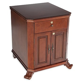 Search Images - Montegue End Table Humidor  1500 Cigar Capacity