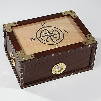 Search Images - Humidor Supreme Maiden Voyage  100 Cigar Capacity