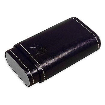 Search Images - Xikar Envoy 3-Finger Cigar Case  Black
