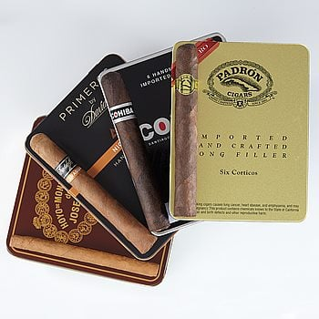 Search Images - Tin Man Cigarillo Sampler  38 Cigars