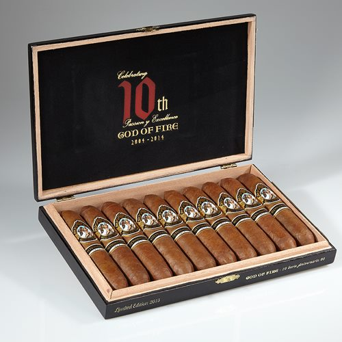 God of Fire Serie Aniversario Cigars