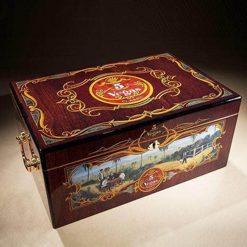 5 vegas tradition humidor - cigar