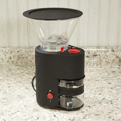 Bodum Bistro Electric Burr Coffee Grinder Cigar Com