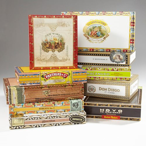 Empty Cigar Boxes Empty Boxes