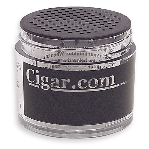 CIGAR.com 2 oz. Crystal Jar Humidification