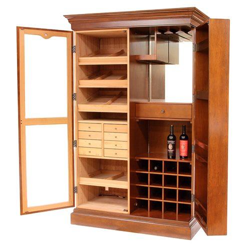 Czar Cigar Bar Cabinet Humidor