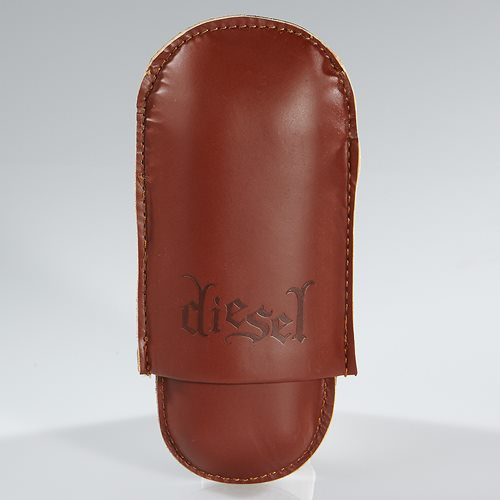Diesel Leather 2-Finger Case Travel Cases