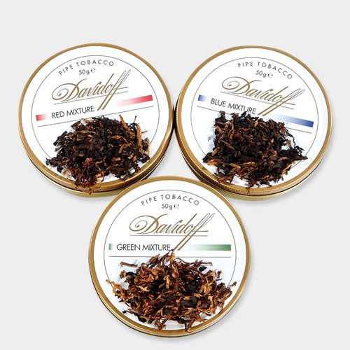 Davidoff White Pipe Tobacco Sampler