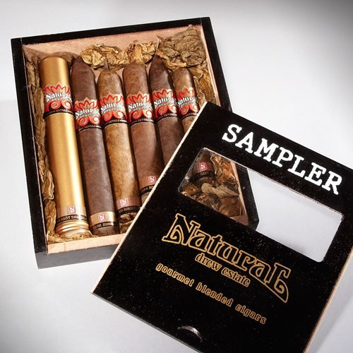 Natural by Drew Estate Sampler Box of 6 Cigar Samplers