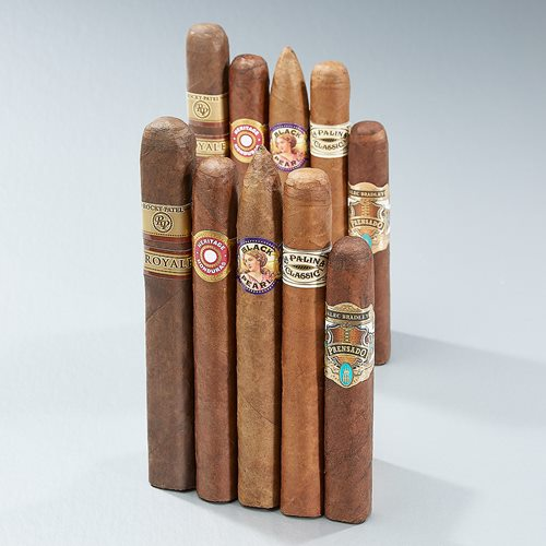 Triumphant Ten 93+ Rated Sampler Cigar Samplers