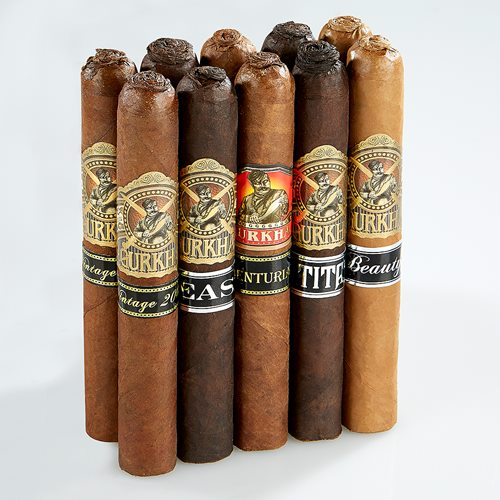 Gurkha Pigtail Toro Collection Cigar Samplers
