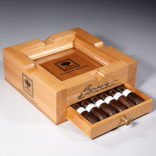 Ramon Bueso Genesis The Project Ashtray Sampler Cigar Samplers