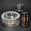 Camacho Powerband Sampler/Ashtray Set Cigar Samplers