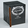 "Excalibur Black Smalls Miniatures (Cigarillos) (3.5""x20) Pack of 100"
