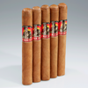 "Gurkha Master Select Connecticut Robusto #4 (6.0""x50) Pack of 5"