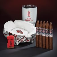 Alec Bradley Ultimate Combo  5-Pack + Lighter + Tumbler + Ashtray