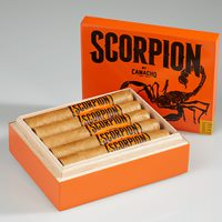 "Camacho Scorpion Sweet Tip Robusto (5.0""x50) Box of 10"