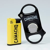 Camacho Scorpion Cutter & Lighter Combo  Cigar Accessory Sampler