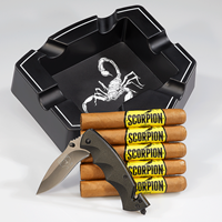 Camacho Combo  5-Pack + Ashtray + Knife