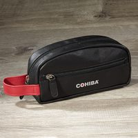 Cohiba Leather Travel Case  10-Capacity