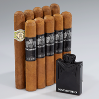 Macanudo 10-Cigar + Lighter Combo  10 Cigars + Lighter