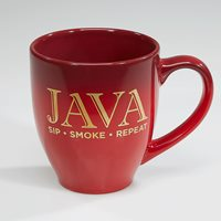 Java Coffee Mug  Maroon